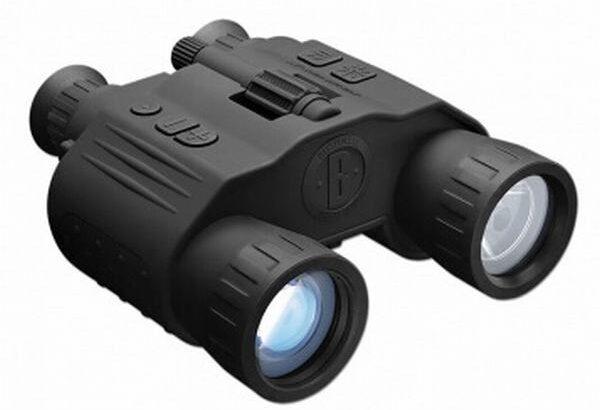 美国博士能bushnell双筒数码红外夜视仪 260500 4X50可拍照录像打猎