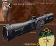 伯里斯/BURRIS3-12X44自动测算弹道测距测风偏瞄准镜 7