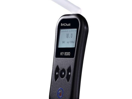 呼吸式酒精检测测试仪花豹3号