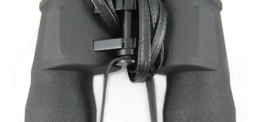云光T98式10×50军标望远镜金属测距测高度高倍高清微光夜视牛皮盒