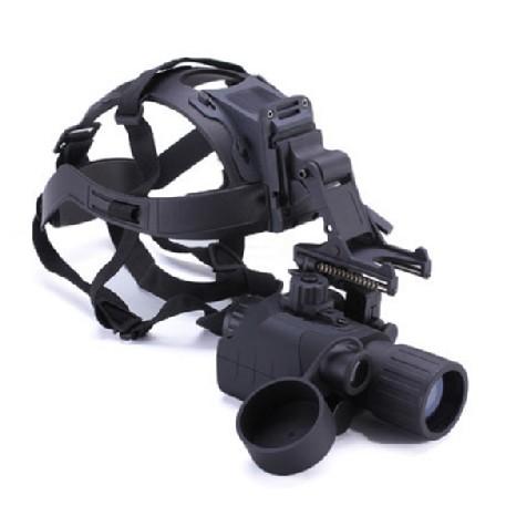 Ares-344型头盔式3X44全黑侦查狩猎用红外夜视仪望远镜