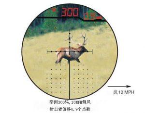 伯里斯/BURRIS3-12X44自动测算弹道测距测风偏瞄准镜 1