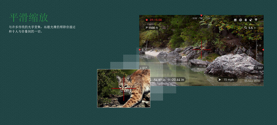 美国ATN X-SIGHT II HD5-20昼夜两用 智能夜视搜索瞄 ATN5-20X85 8