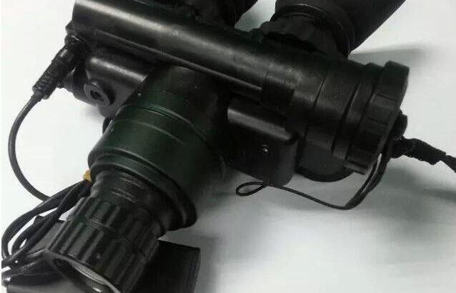 超二代OHB-7双目单筒目距可调盔式微光夜视仪