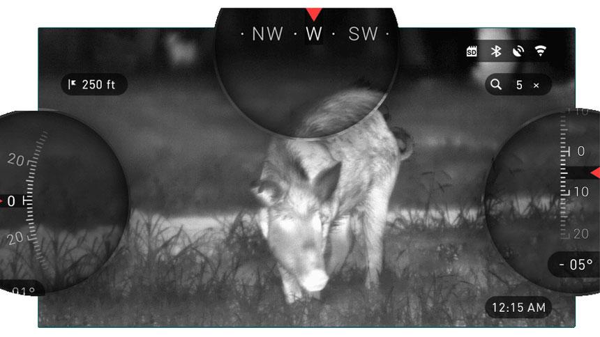 美国 ATN OTS-HD 384 4.5-18x 热成像仪 热搜 WIFI GPS 拍照摄像取证