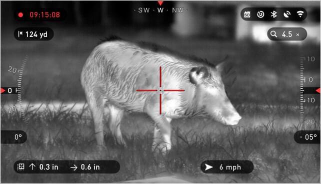 ATN 热成像瞄准镜 雷神 ThOR-HD 640 1.5-15x 高清打猎带十字 7