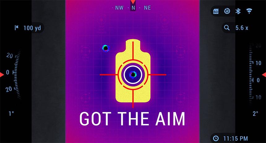 美国ATN 雷神四代 THOR 4 640 4-40×70 热成像瞄准镜 1