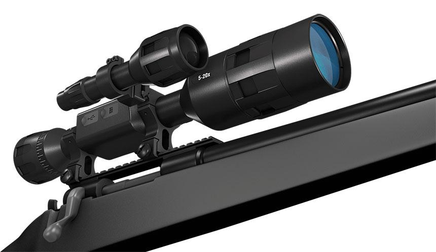 ATN X-SIGHT 4K PRO 5-20X新款日夜两用智能数码红外夜视仪 2