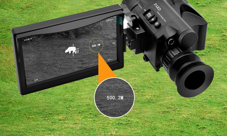 PARD 40SL 54SL普雷德红外热成像仪瞄准镜专业打猎 内置测距 2