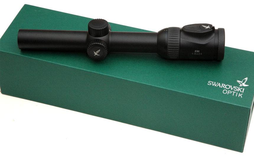 原装进口Swarovski施华洛世奇瞄准镜 Z8i 1-8x24 顶级高清 白光瞄